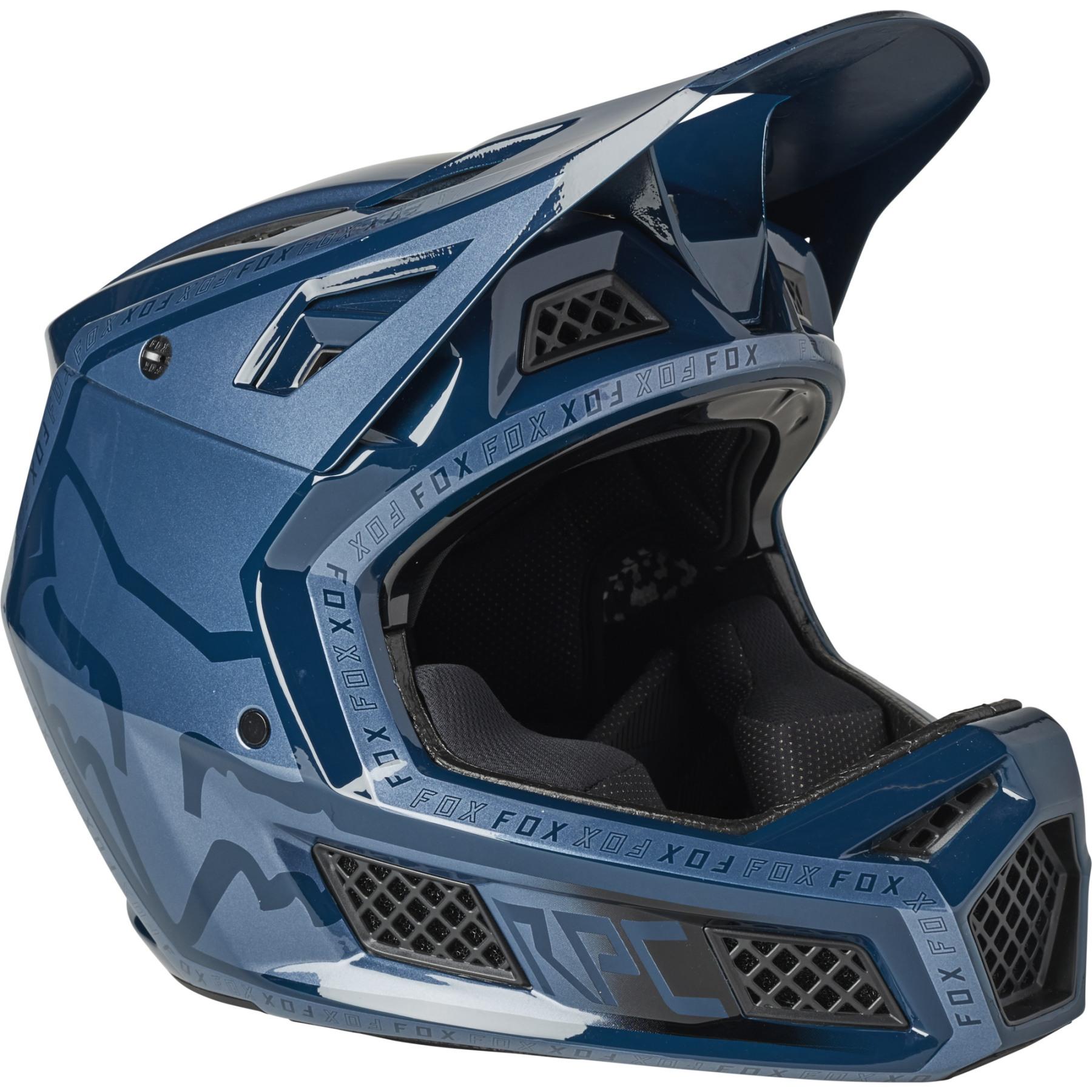 FOX Rampage Pro Carbon MIPS Fullface Helm - Cali - dark indigo