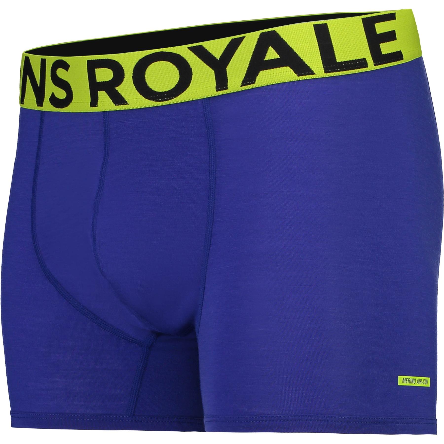 Mons Royale Hold 'em Shorty Boxer Shorts 100087 - ultra blue