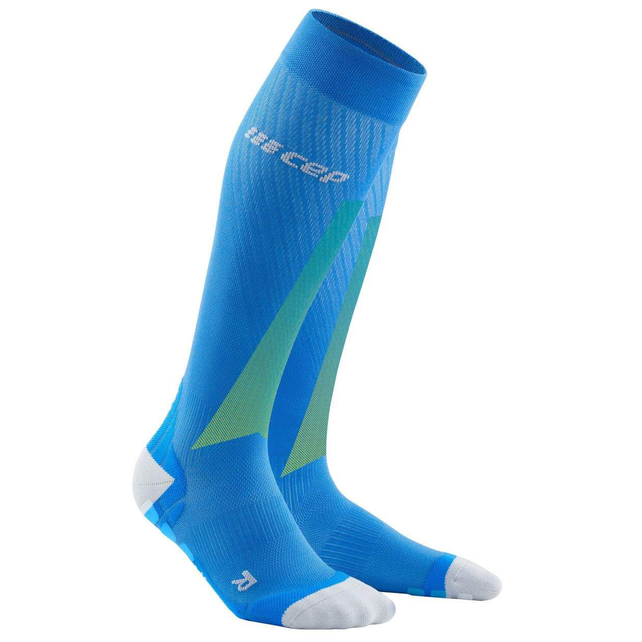 CEP Ultralight Pro Compression Socks - electric blue/light grey