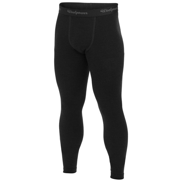 Woolpower Long Johns LITE Unterhose - schwarz