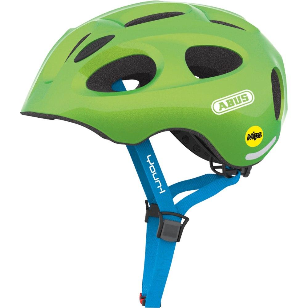 Imagen de ABUS Youn-I MIPS Kids Helmet - sparkling green