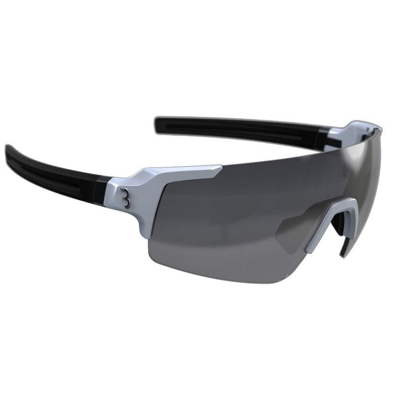BBB Cycling Fullview BSG-63 glossy white   smoke MLC + clear + yellow Glasses