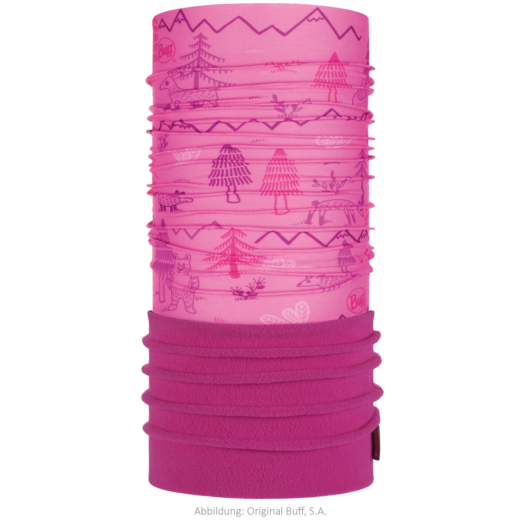 Buff® Polar Multifunctional Cloth Baby - Baby Woods Pink