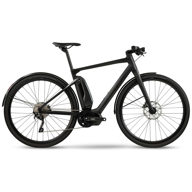 BMC ALPENCHALLENGE AMP CITY ONE E-Bike - 2021 - carbon & gold pattern