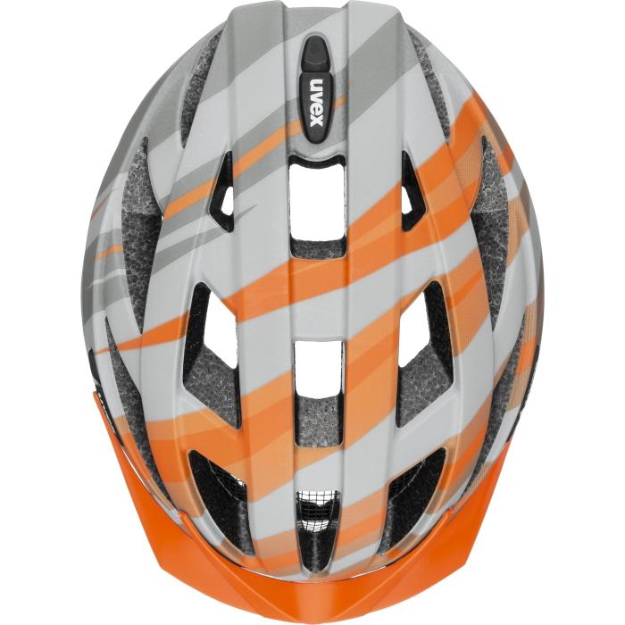 Bild von Uvex air wing cc Helm - grey - orange mat
