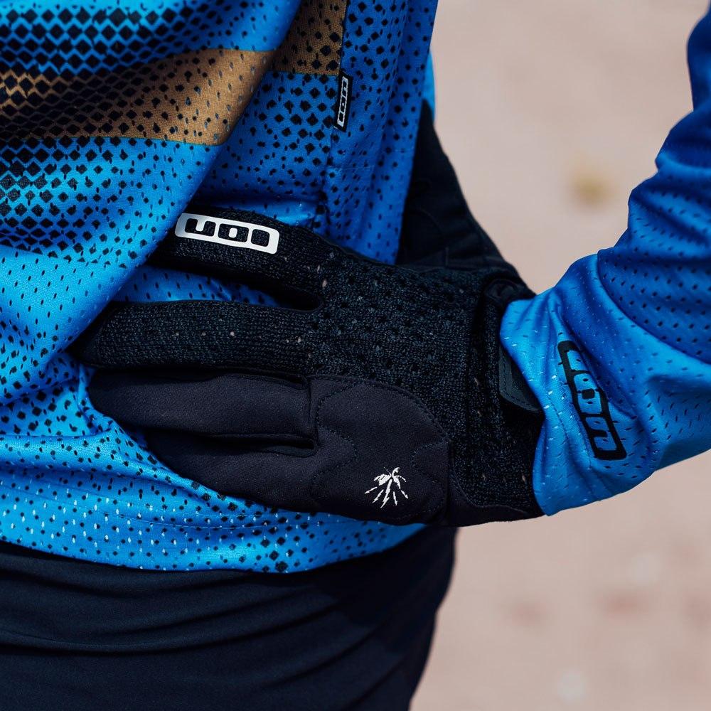 Image of ION Bike Gloves Seek Amp - black