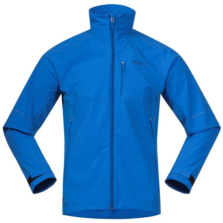 Image of Bergans Slingsby LT Softshell Jacket - Athens Blue/Classic Blue