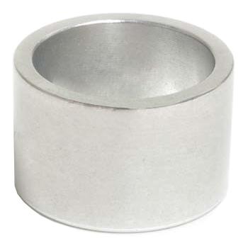 Bild von Wheels Manufacturing Steuersatz Spacer - 7.5mm/10mm - 1 1/8 Zoll (1 Stück) - silber poliert