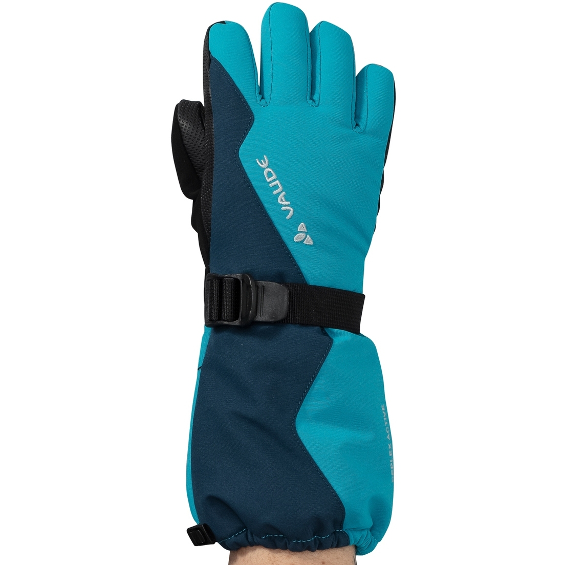 Picture of Vaude Kids Snow Cup Gloves - arctic blue