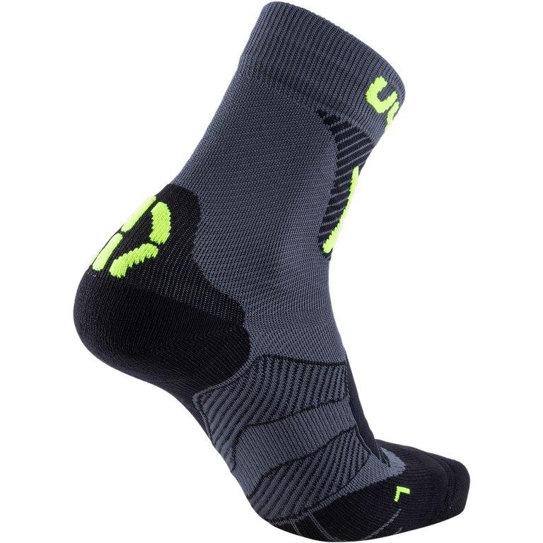 Bild von UYN Cycling MTB Light Herren Socken - Anthracite/Yellow Fluo