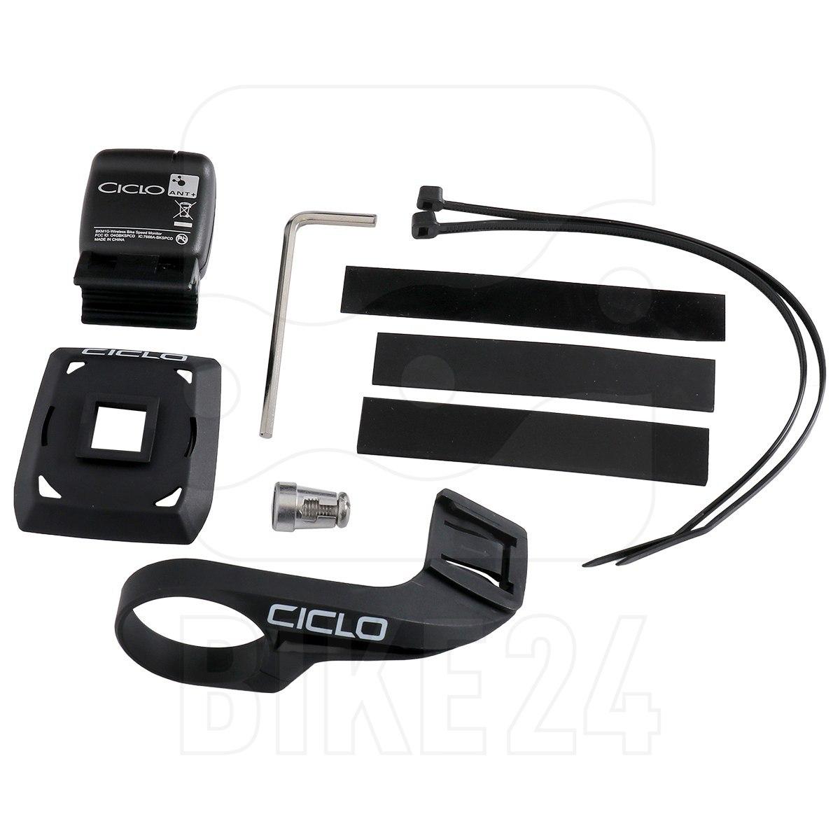 Ciclosport QMS Handlebar bracket / Speed sensor Set for HAC 1.x 11302401