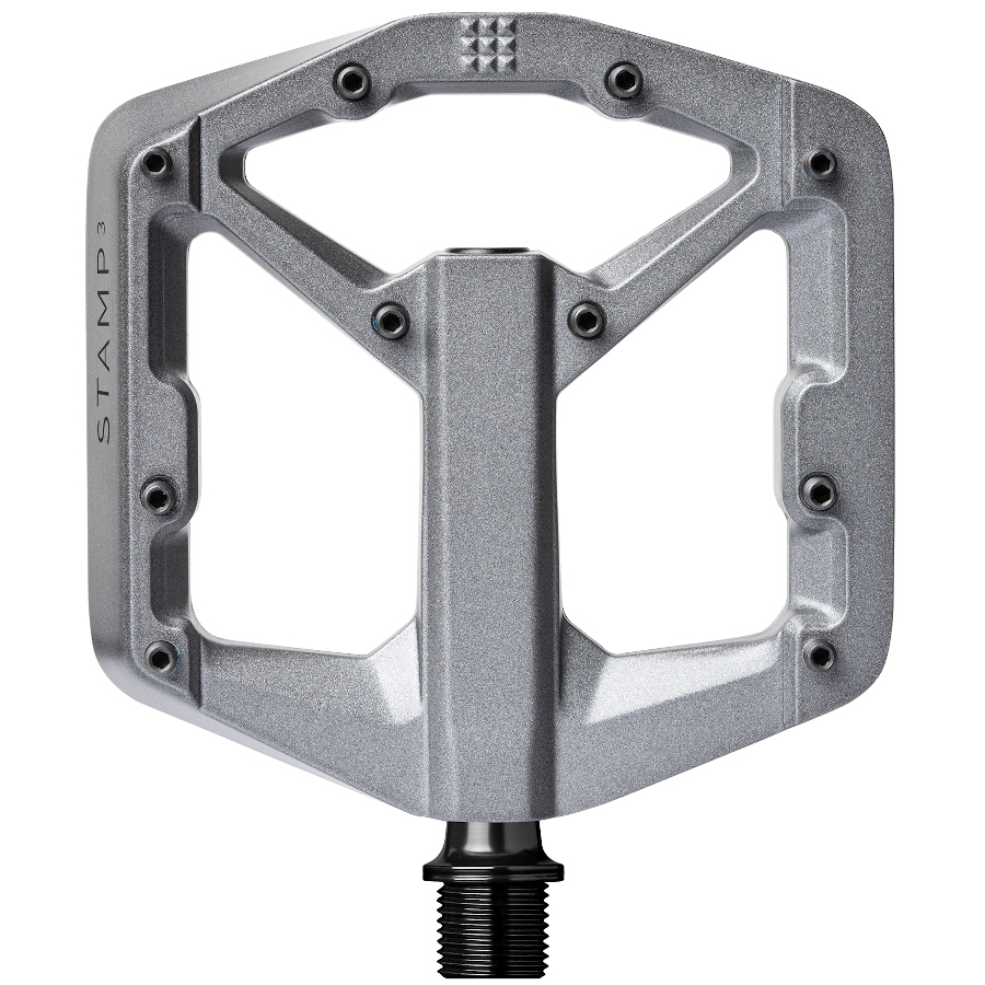 Picture of Crankbrothers Stamp 3 Magnesium Flat Pedal - small - grey