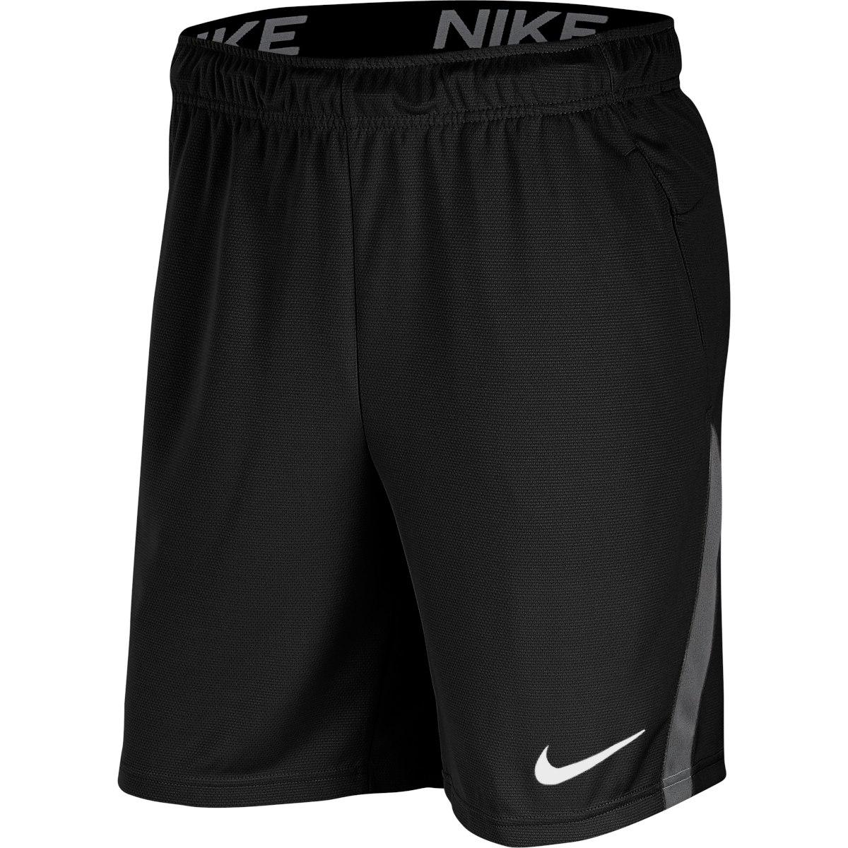 "Foto de Nike Dri-FIT Pantalón corto 9"" de entrenamiento para hombre - black/iron grey/white CJ2007-010"