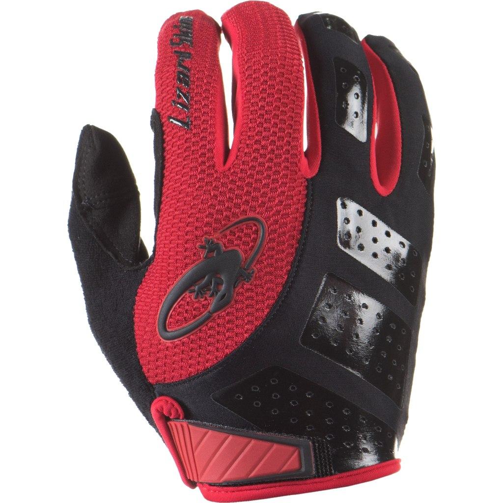 Lizard Skins Monitor SL Full Finger Gloves - jet black / crimson