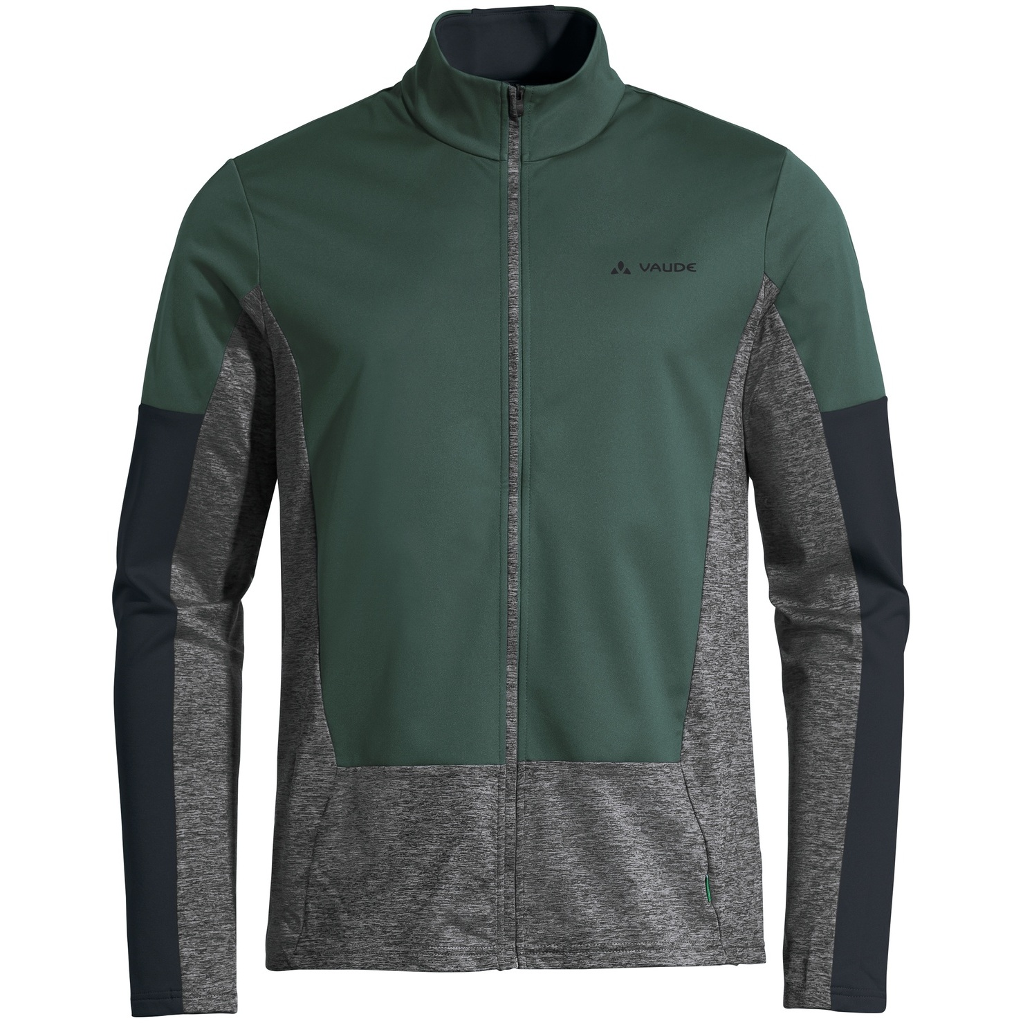 Vaude Men's All Year Moab FZ T-Shirt Longsleeve - dusty forest