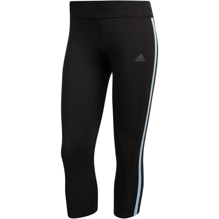 adidas Women's Response 3/4 Tights - black/ash grey DU0610