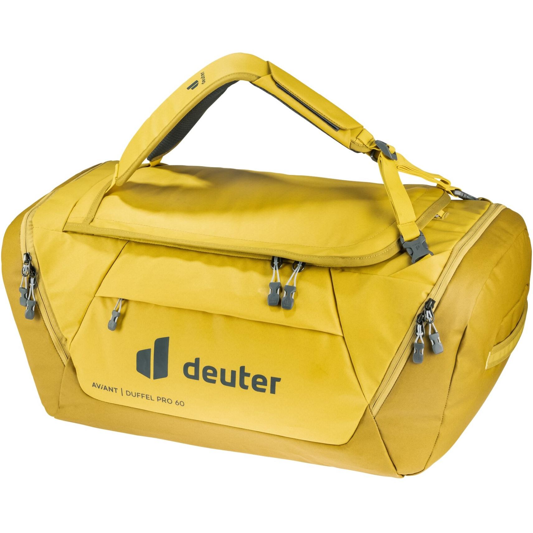 Produktbild von Deuter AViANT Duffel Pro 60 Tasche - corn-turmeric
