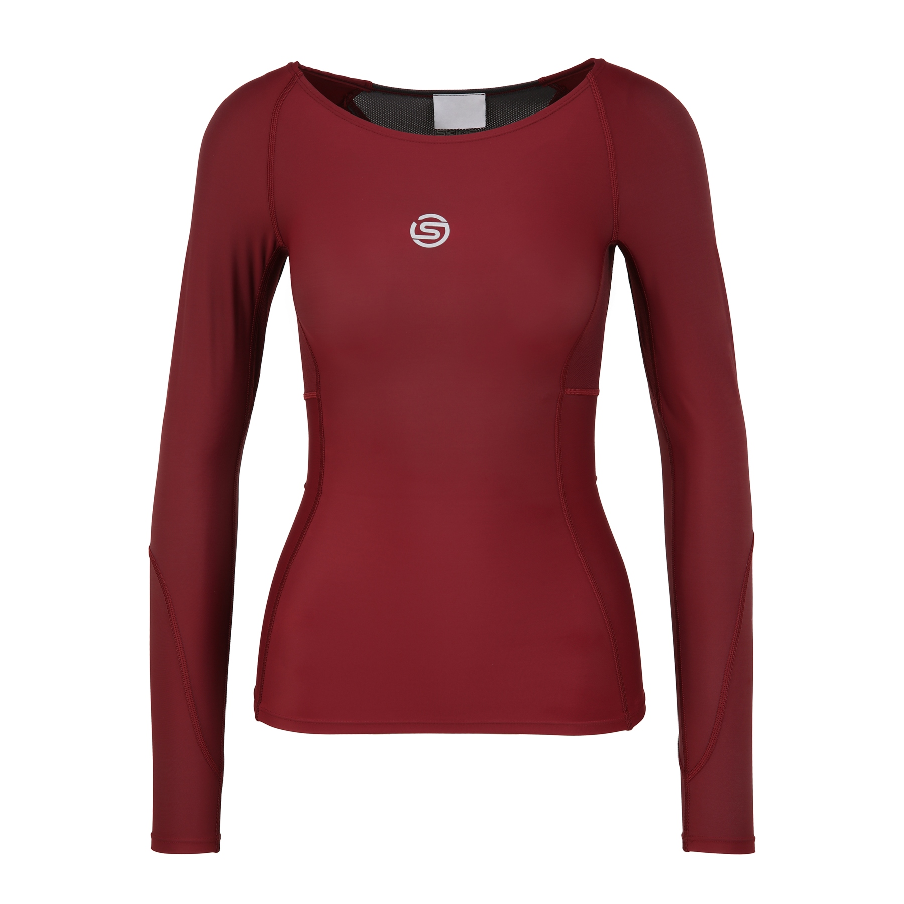 SKINS Compression 3-Series Longsleeve Shirt Women - Burgundy