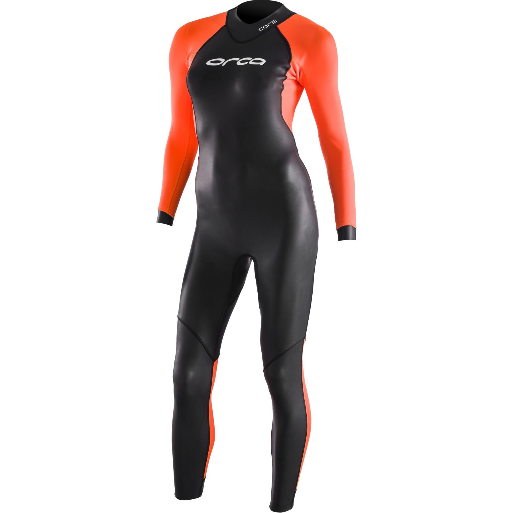 Orca Openwater Core Hi-Vis Neoprenanzug Damen - black