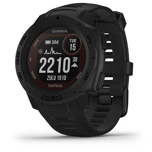 Garmin Instinct Solar Tactical GPS Smartwatch - schwarz