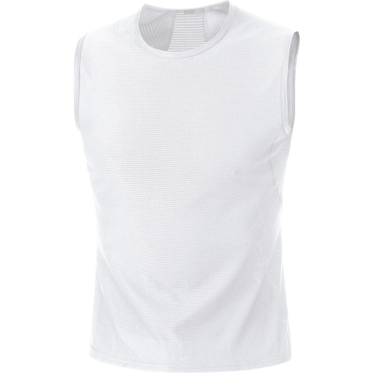 Foto de GORE Wear M Base Layer Sleeveless Shirt - white 0100