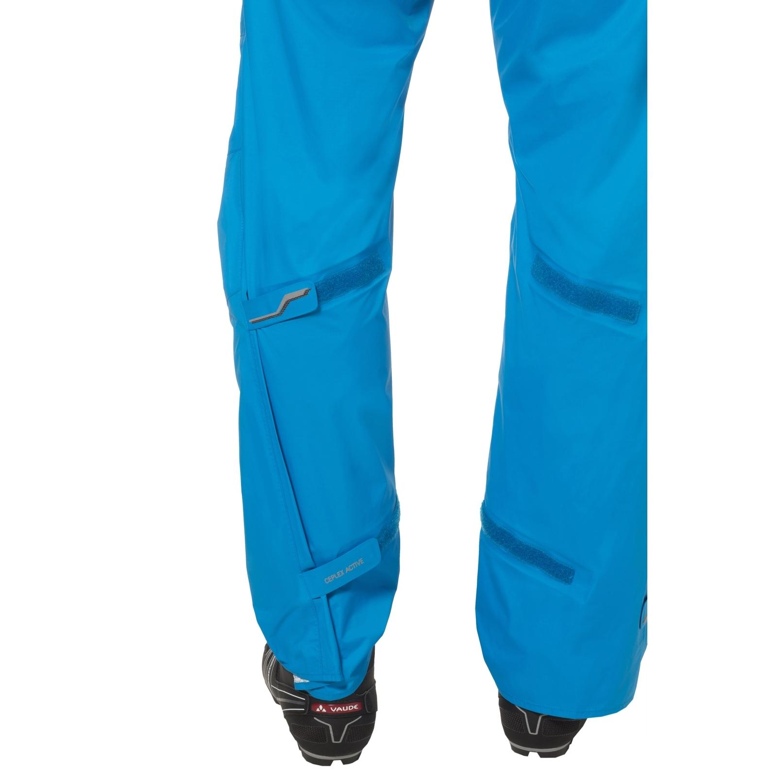Bild von Vaude Drop II Regenhose - Regular - signal blue