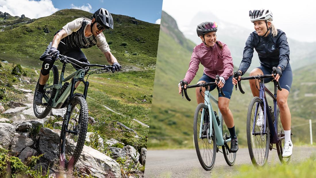 SCOTT Bikes – Finde das richtige Bike für dein Abenteuer!