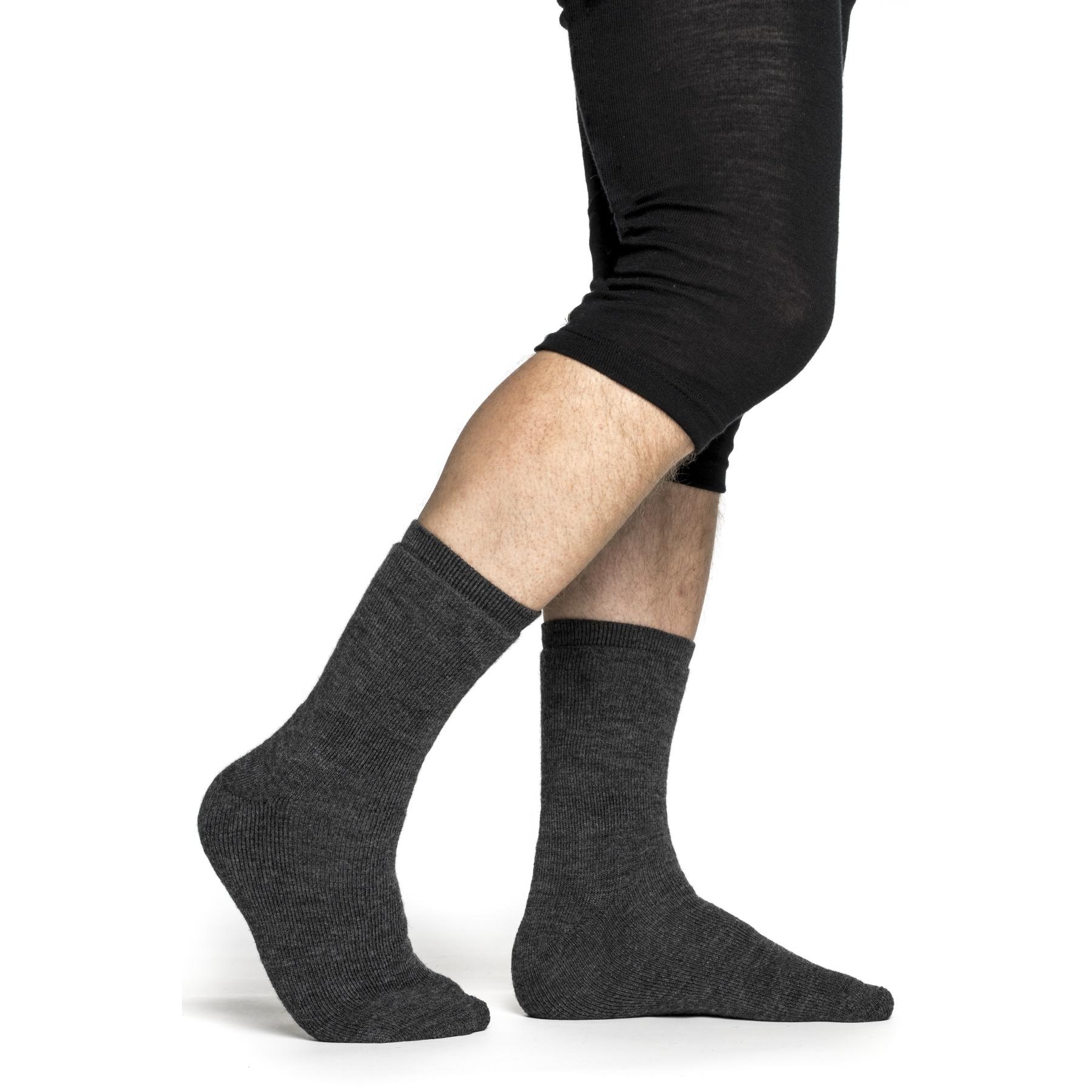 Woolpower Socken 400 - grey