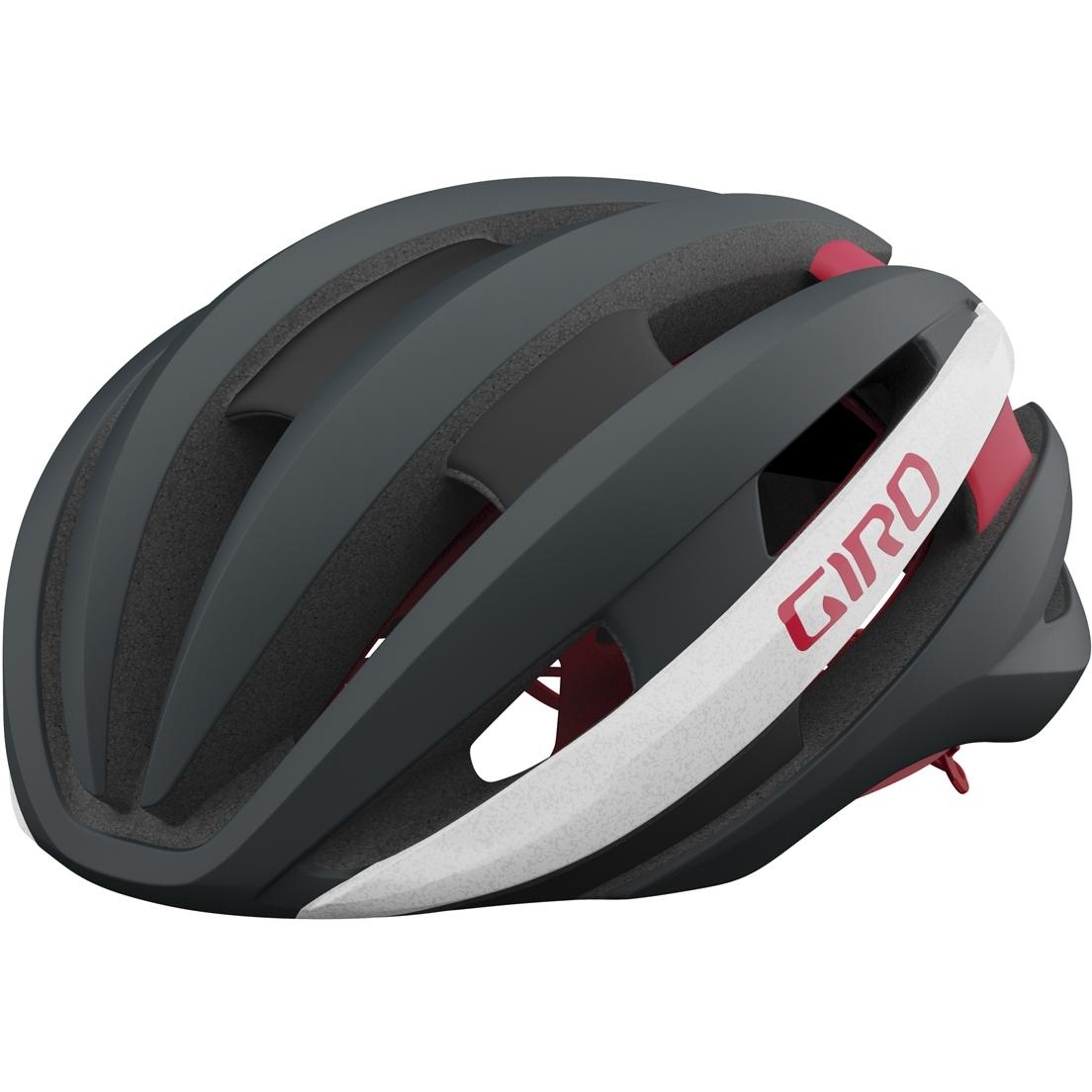 Giro Synthe MIPS II Helm - matte portaro grey / white / red