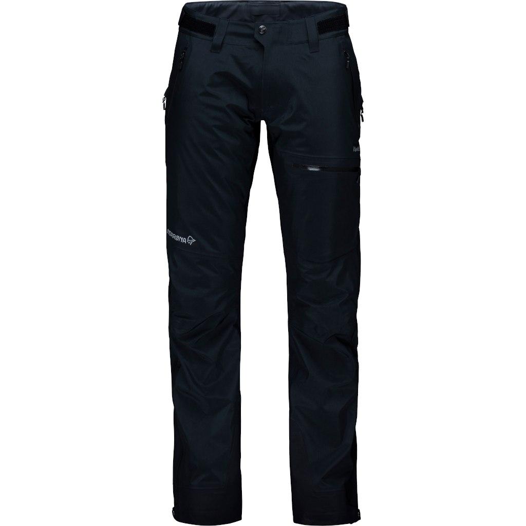Norrona falketind Gore-Tex Pantalones para mujeres - Caviar