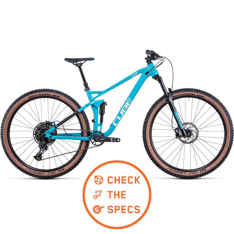 CUBE STEREO 120 Pro - Bicicleta de Montaña - 2022 - skyblue/white A01