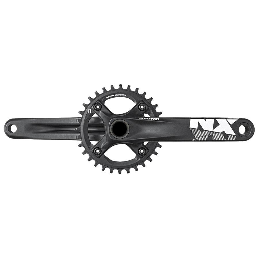 SRAM NX 1x X-SYNC Kurbelgarnitur 11-fach - GXP - Black