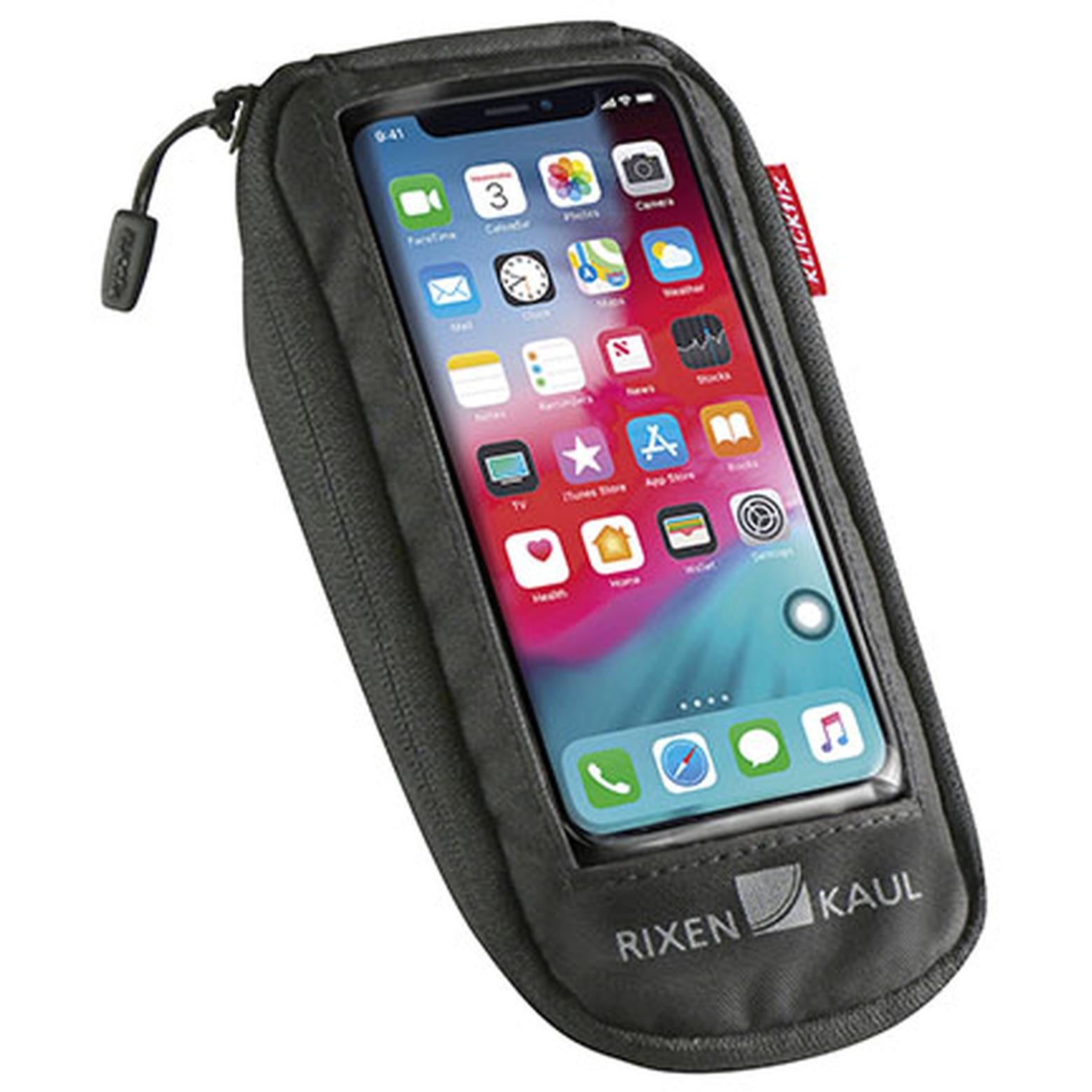 KLICKfix PhoneBag Comfort S Smartphone Lenkertasche - schwarz