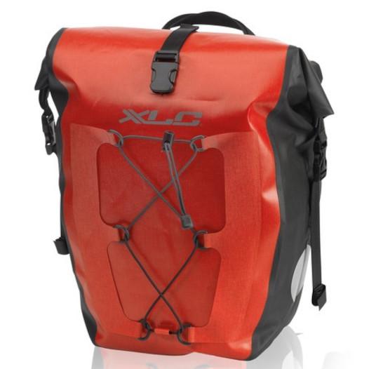 XLC BA-W38 Einzeltaschenset - rot