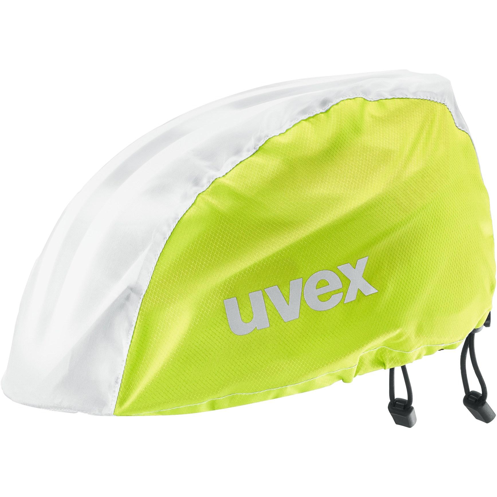 Uvex rain cap bike Helmüberzug - lime white