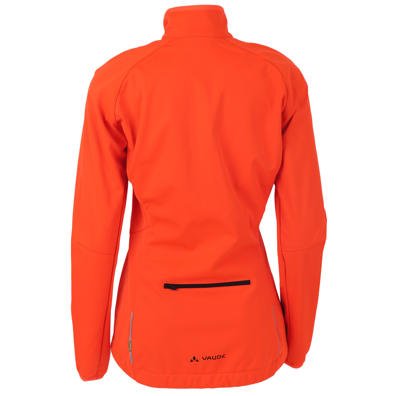 Image of Vaude Women's Matera Softshell Jacket - neon orange