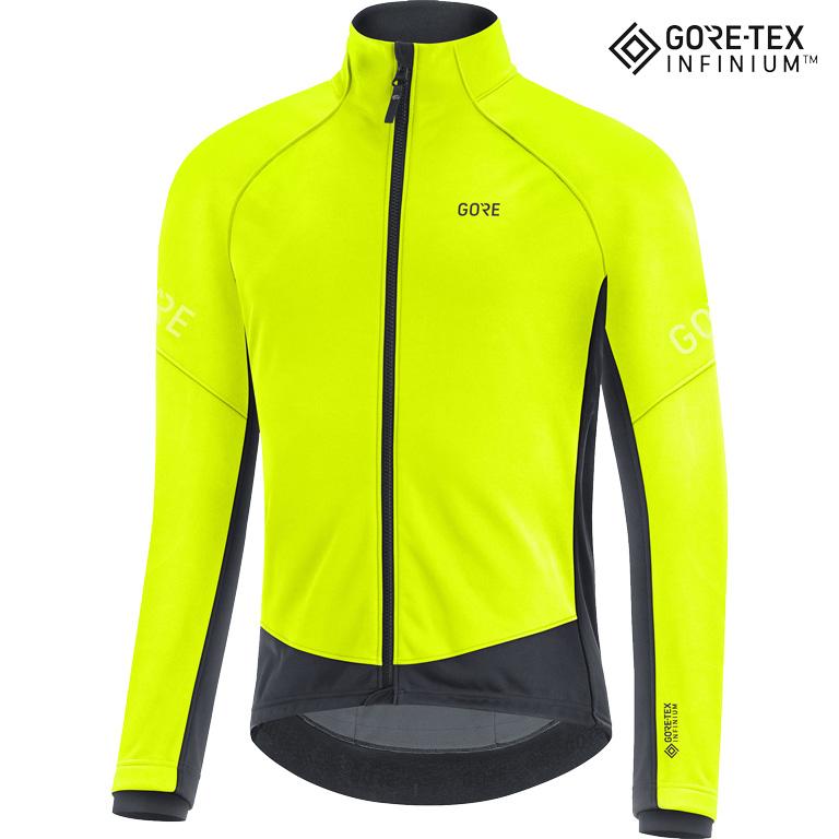 GORE Wear C3 GORE-TEX INFINIUM™ Thermo Chaqueta - neon yellow/black 0800
