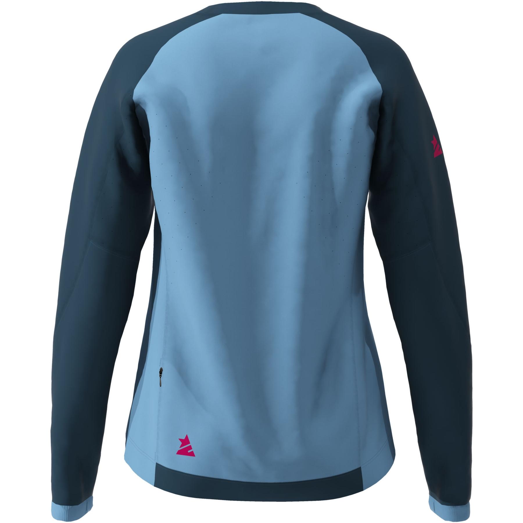 Bild von Zimtstern PureFlowz Langarm-Shirt Damen - heritage blue/french navy