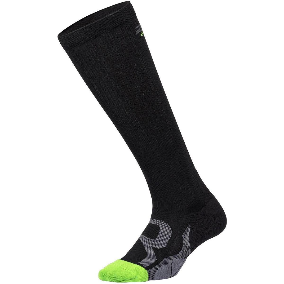 2XU Compression Calcetines para recuperación - estrecha - black