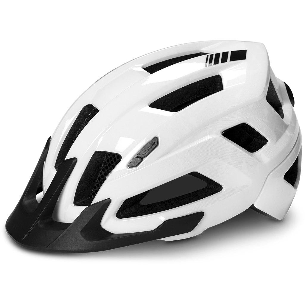 CUBE Helmet STEEP - glossy white