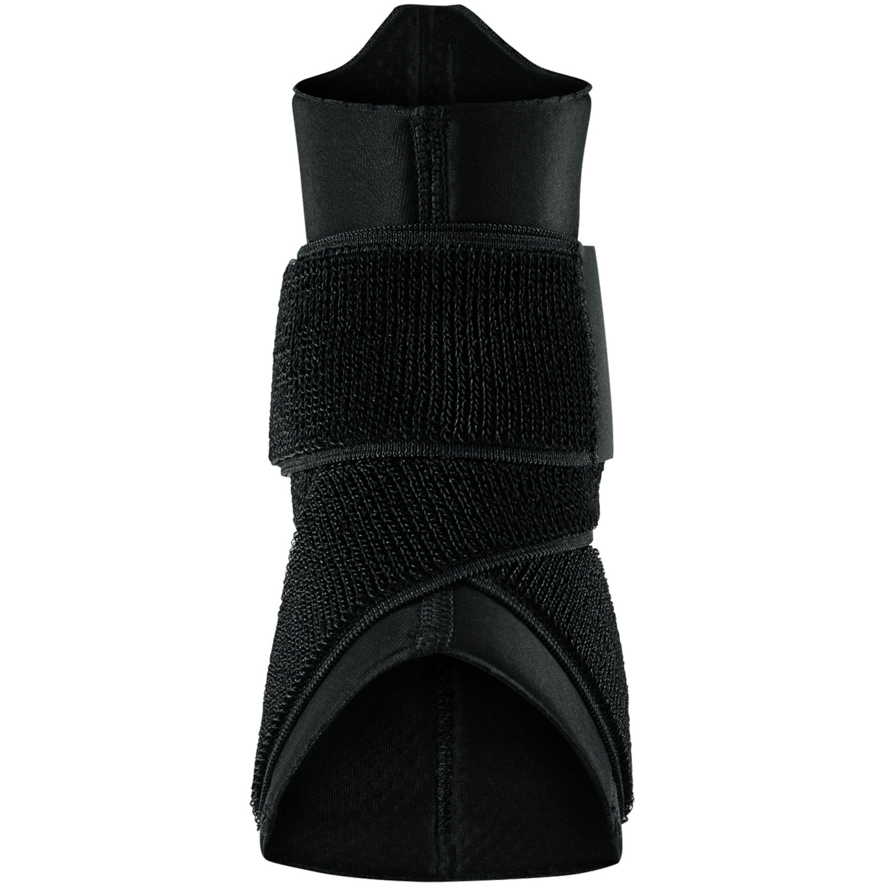 Image of Nike Pro Ankle Sleeve with Strap - black/white 010