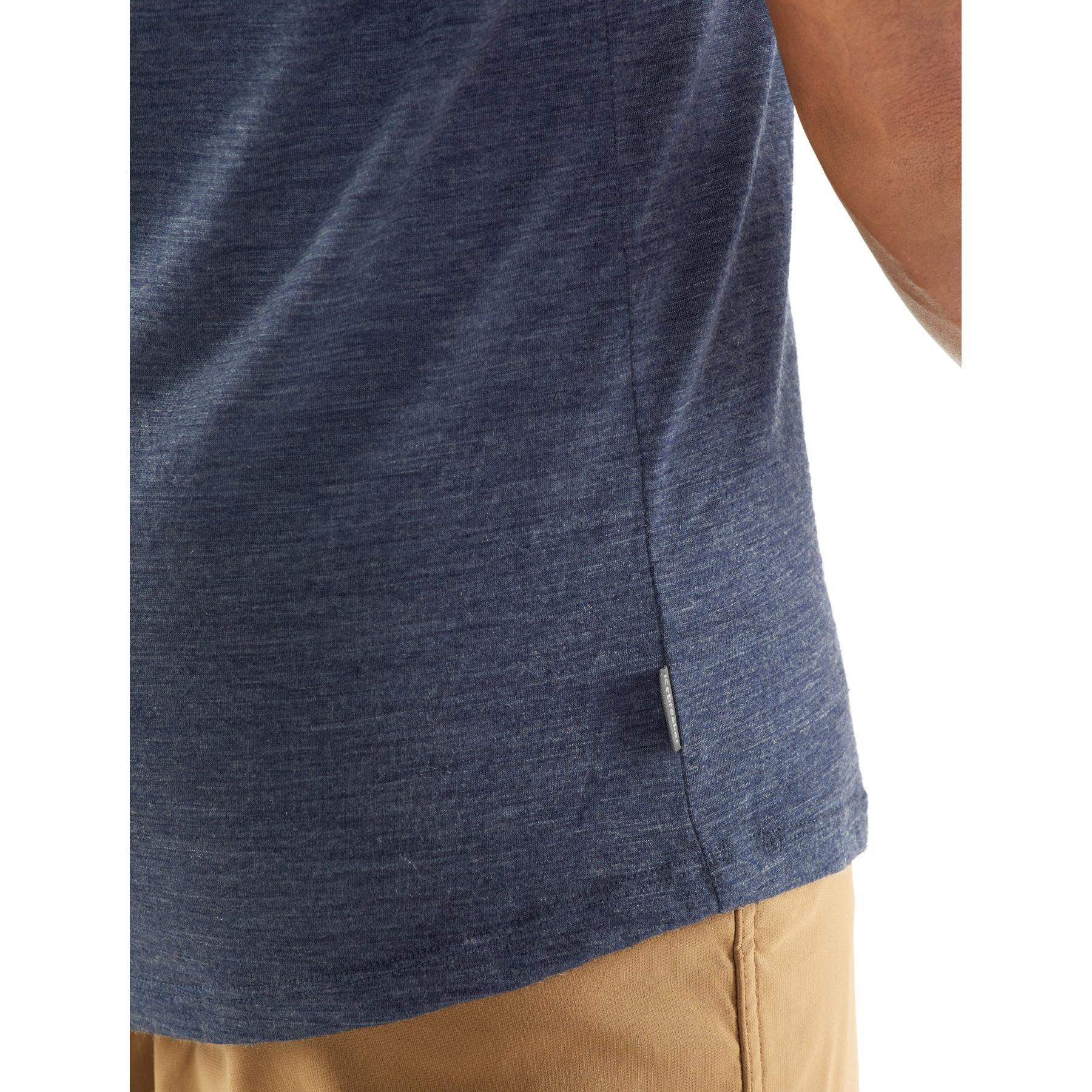 Bild von Icebreaker Sphere Crewe Herren T-Shirt - Roote HTHR