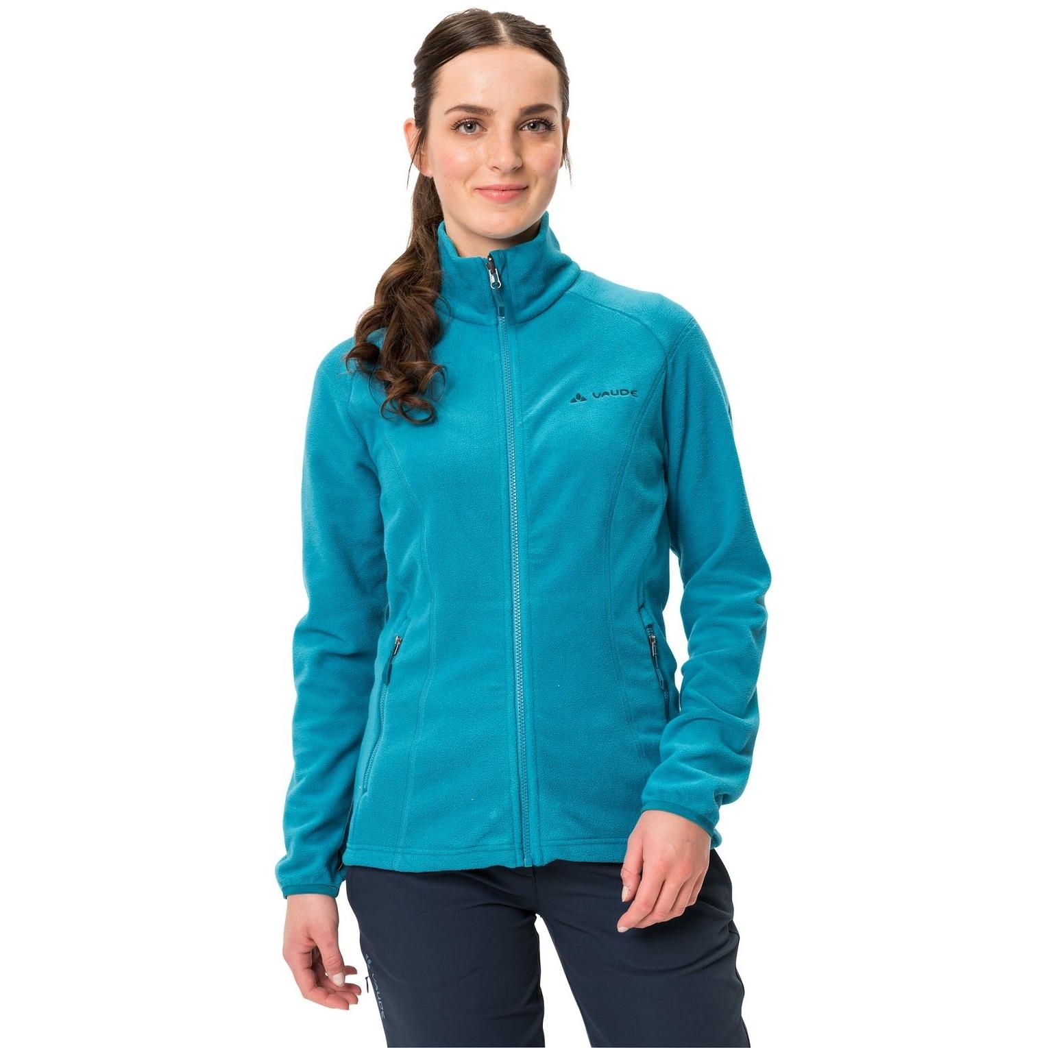 Image of Vaude Women's Rosemoor Fleece Jacket - arctic blue