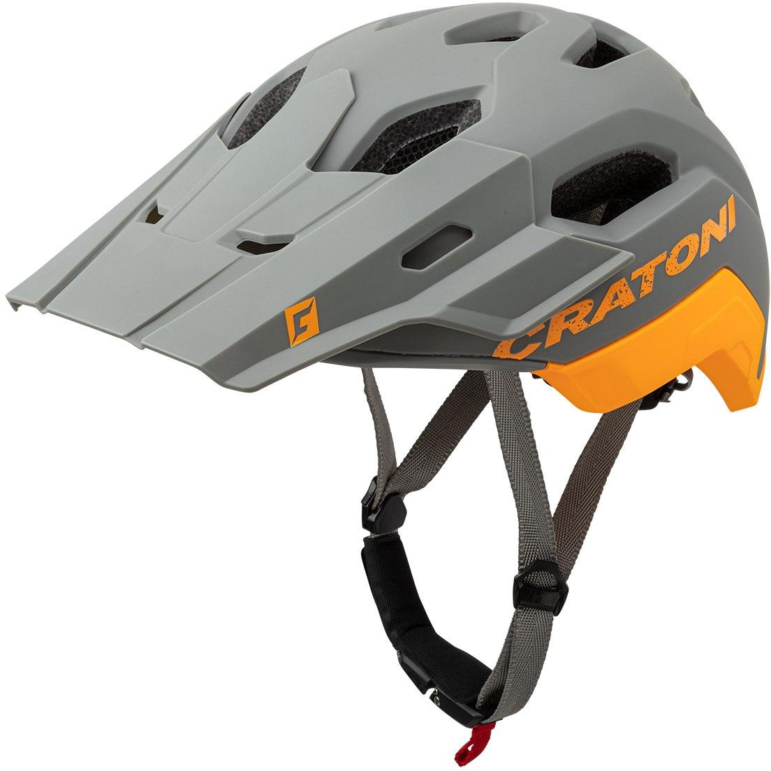 CRATONI C-Maniac 2.0 Trail Helmet - grey-orange matt