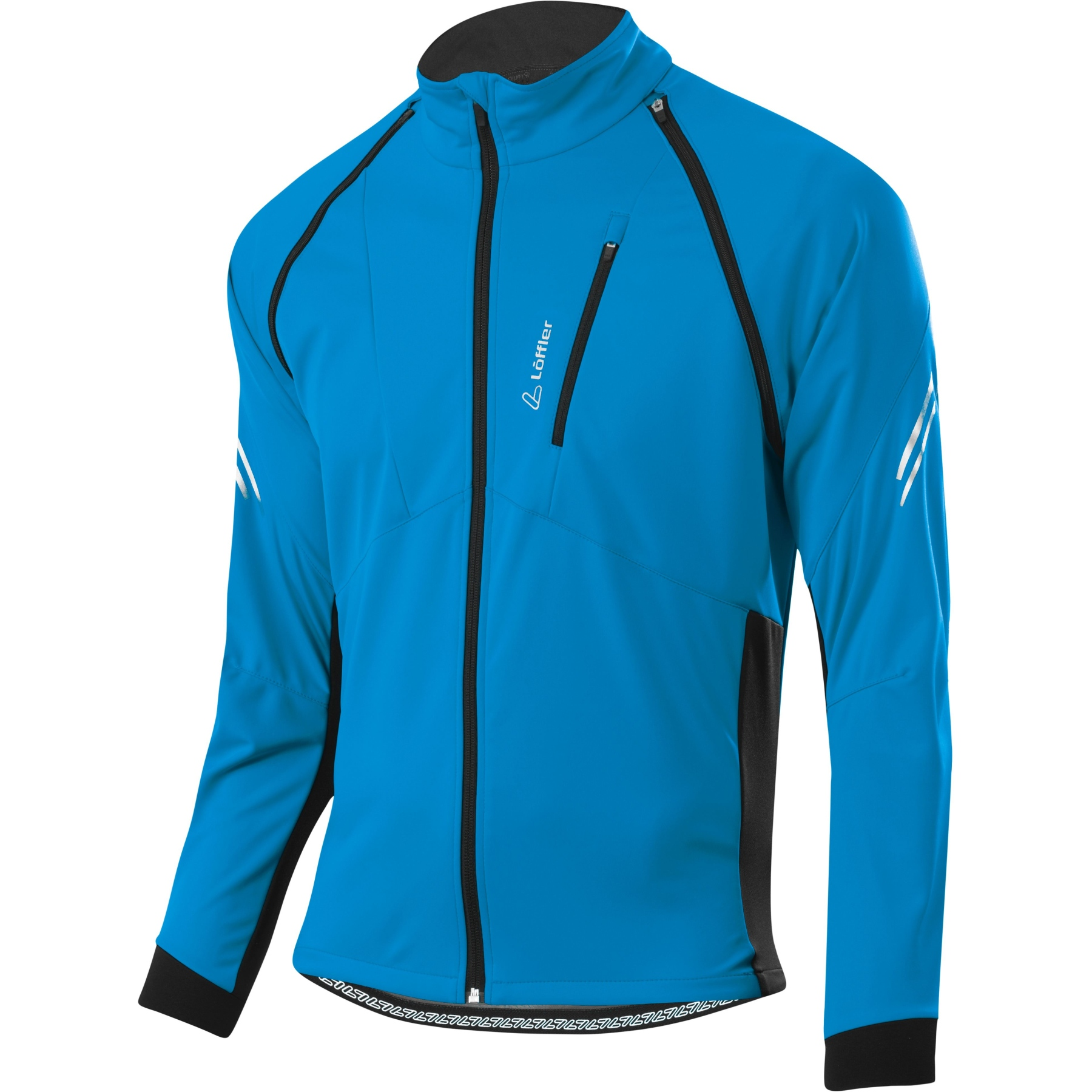 Löffler Bike Zip-Off Jacke San Remo 2 WS Light 24573 - blue lake 426