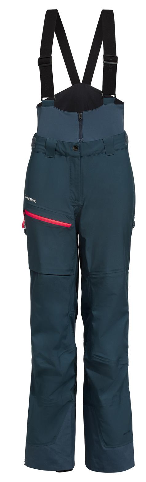 Vaude Back Bowl Pants IV Damen Skihose - steelblue