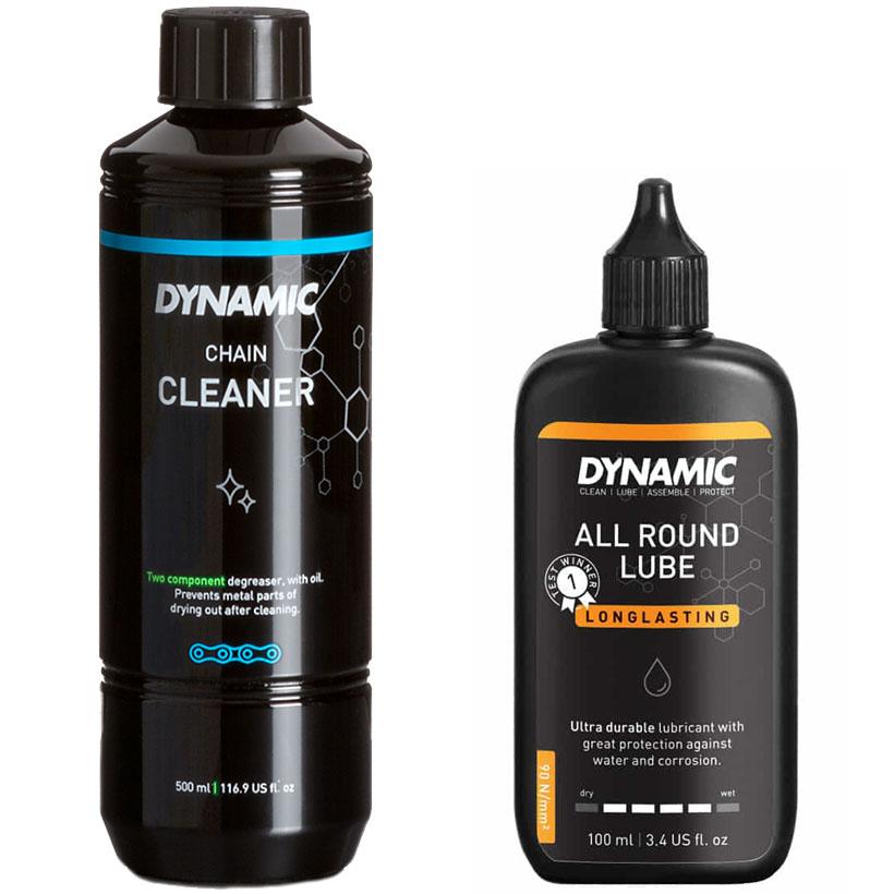 Dynamic Kettenpflege-Set: Reiniger + Schmierstoff