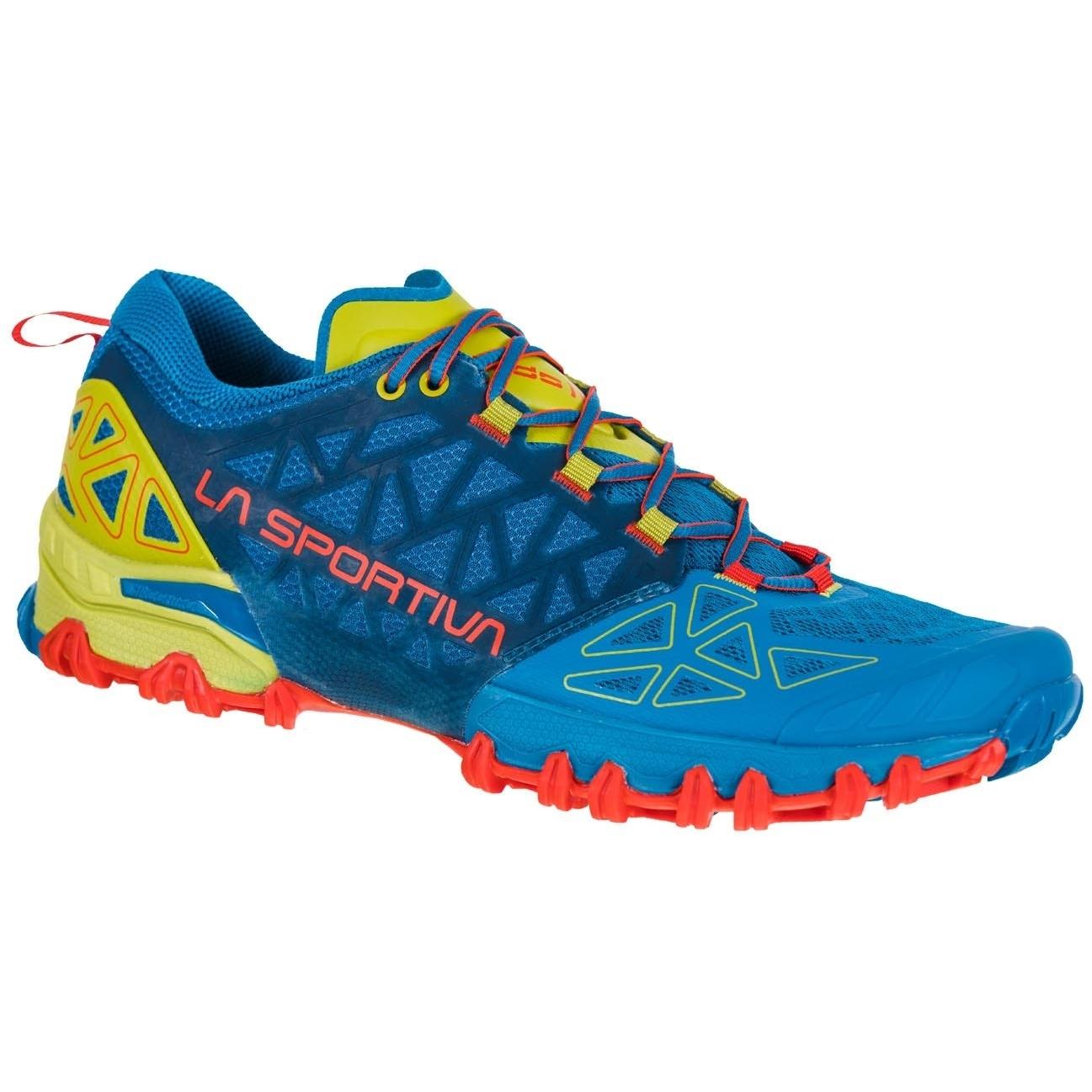 La Sportiva Bushido II Running Shoes - Neptune/Kiwi