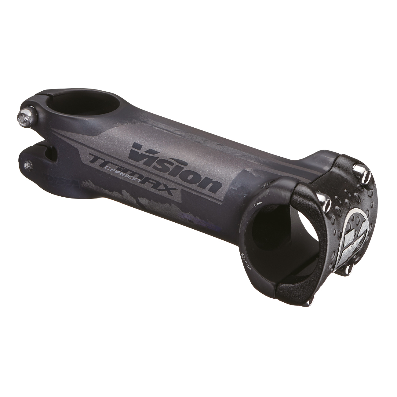 Vision TriMax Carbon Vorbau - 31,8mm - 6°