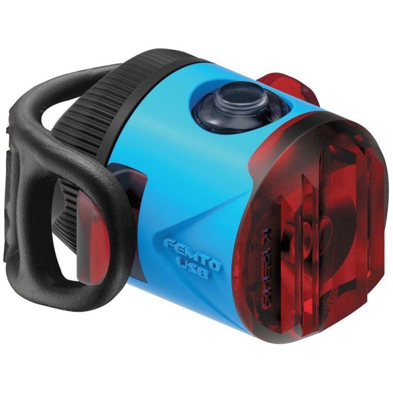 Lezyne Femto Drive Rücklicht - StVZO zugelassen - blau